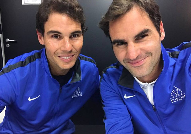 Roger Talks Health and Rehab with Rafa in Instagram Chat