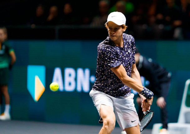 Sinner Topples Goffin For First Top 10 Win in Rotterdam