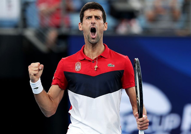 Djokovic Stops Nadal, Levels ATP Cup Final