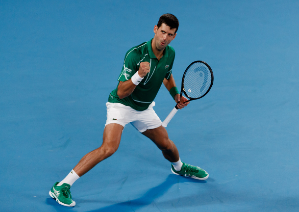 Djokovic, Bidding for Fifth Title in Dubai, Joined by Tsitsipas and Monfils