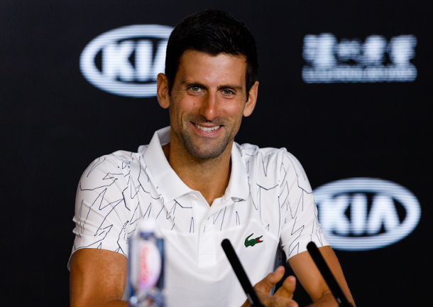 Novak: Fighting Fear Key to Winning Slams