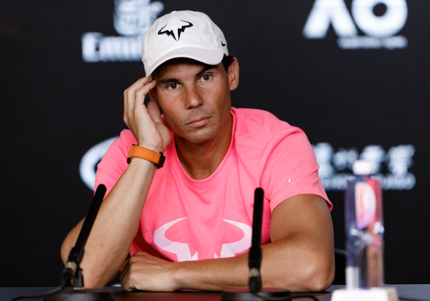 Nadal: Not Ready to Travel to Tournaments