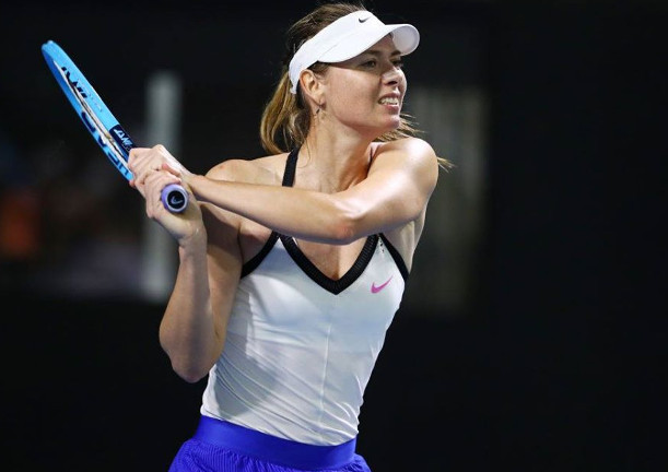 Brady Surprises Sharapova in Brisbane Breaker