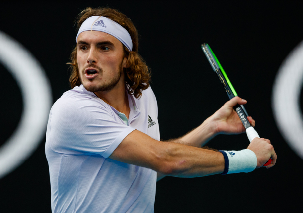 Tsitsipas Talks Bubble Love