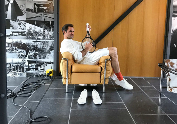 Federer Unveils New Namesake Shoe