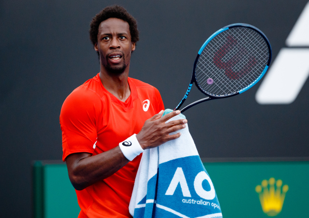 Watch: Monfils' Mixes Dodgeball with Tennis