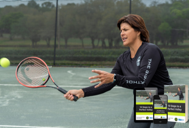 Gigi Fernandez Issues Free eBook on Perfect Volley