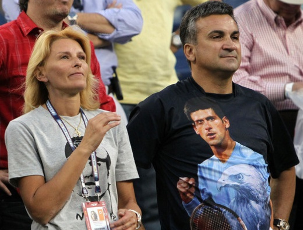 Novak's Mom: God Saved Him in Wimbledon Final