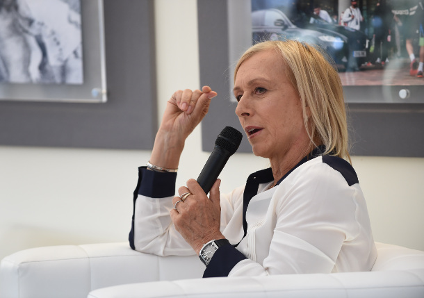 Navratilova: Sympathy for Serena and Federer