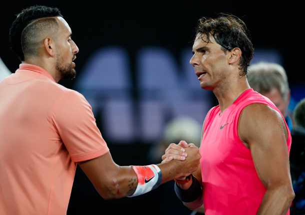 Kyrgios to Nadal: Let's Go Live