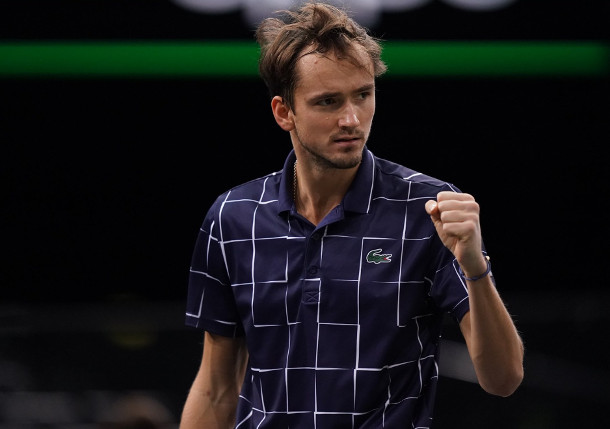 Medvedev Powers Past Zverev, Wins Paris Masters - Tennis Now