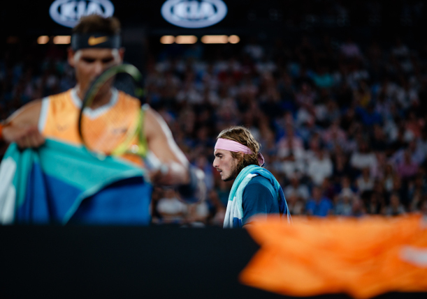 Tsitsipas Offers Ominous Prediction For Nadal Rematch