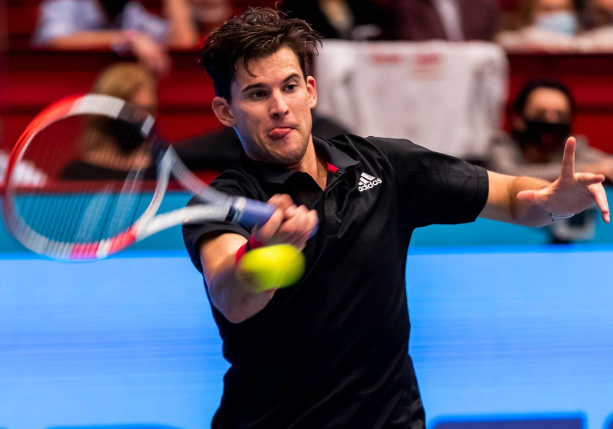 Thiem Tops Tsitsipas in ATP Finals Opener
