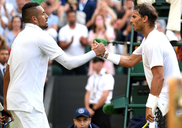 "Kyrgios: ""Ridiculous"" Rafa Rivals Roger in GOAT Debate"