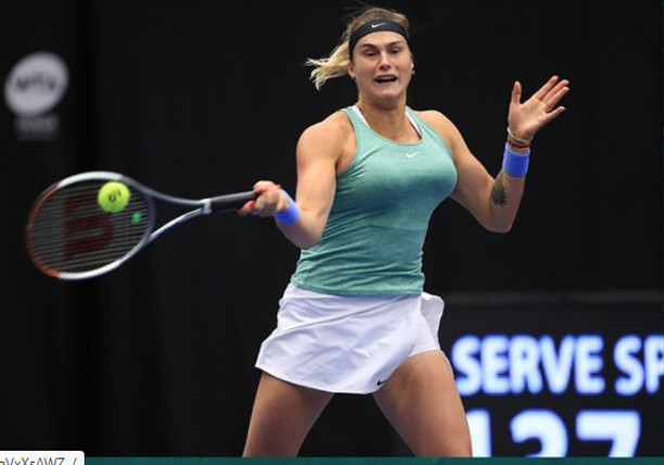 Streaking Sabalenka Scores 11th Straight Win in Abu Dhabi