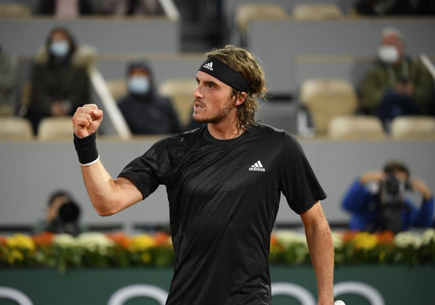 Tsitsipas Sets Up Rublev Rematch in RG Quarterfinals