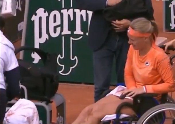 Bertens Survives Cramps and Errani's Exaggerating Charge