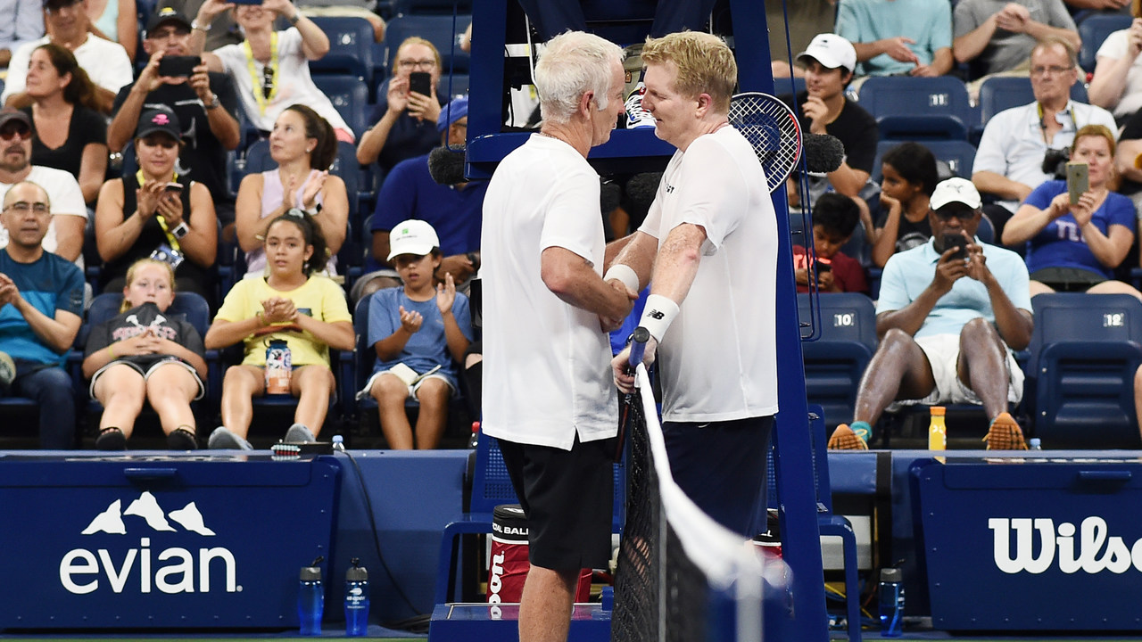 Courier Disputes McEnroe on Djokovic Damage