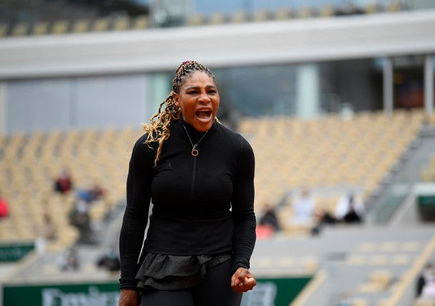 After Slow Start, Serena Surges In RG Opener