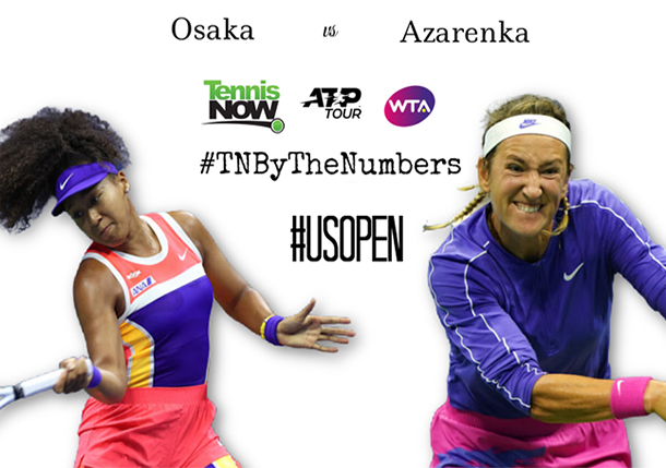 Azarenka v Osaka, US Open Final, By the Numbers