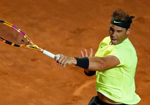 Nadal Rides on in Rome