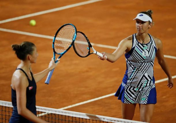 Pliskova, Voundrousova Set All-Czech Semi in Rome