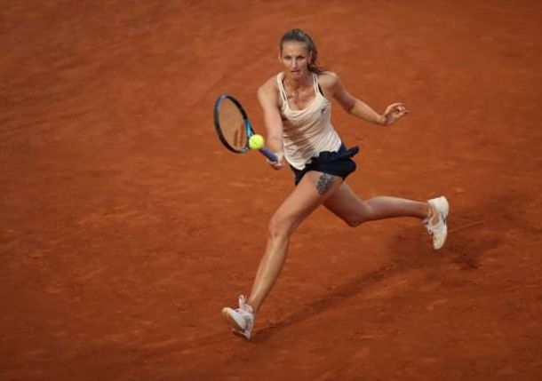 Pliskova Hoping for Good News from Doctor after Rome Retirement