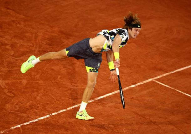 Andrey Rublev's Serve is Bigger than Ever, and Still Improving