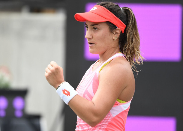 Kovinic Sweeps to First Final in Five Years, to face Kudermetova in Charleston