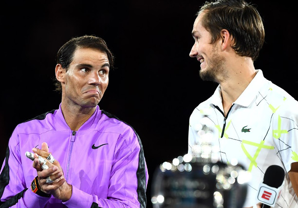 Nadal: No Worries After Practice with Infected Medvedev