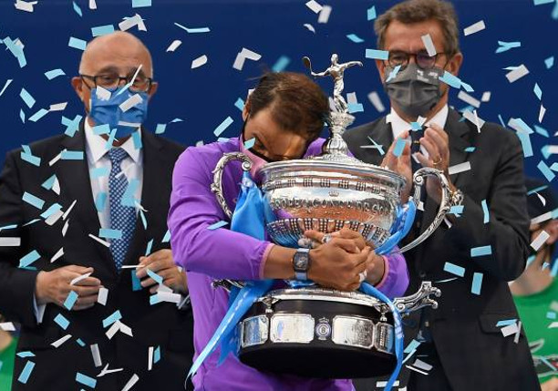 12th Right: Nadal Saves MP, Subdues Tsitsipas For 12th Barcelona Crown