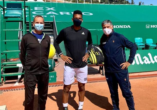 Auger-Aliassime on 2021 Goal with Toni Nadal