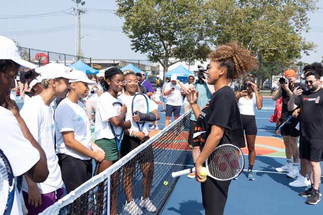 Court Care: Osaka and BodyArmor Unveil Refurbished Queens Court