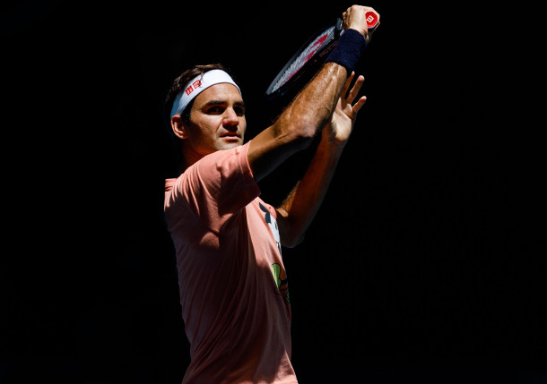Federer Fires Up Fans with Post