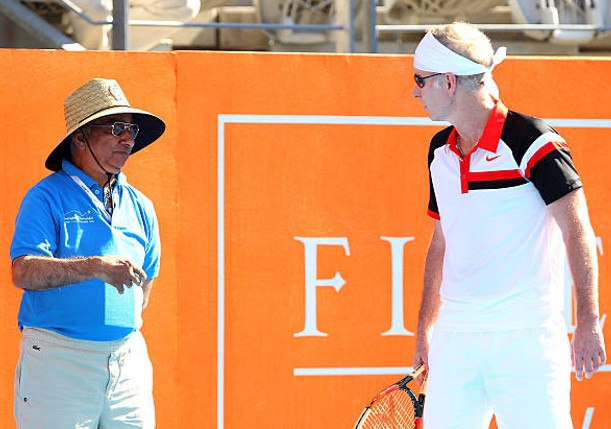McEnroe on AO Officiating: What the Hell Would You Need Linesmen For?