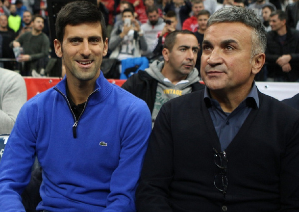Djokovic's Dad: On Divine Mission, Novak Will Break Slam Record in 18 Months