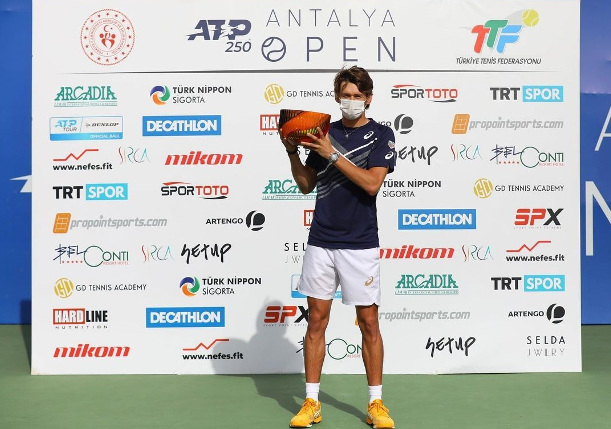 Going Fourth: de Minaur Wins Antalya Open