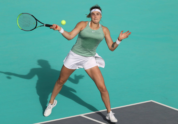 Sabalenka Storms Into Third Straight Final in Abu Dhabi