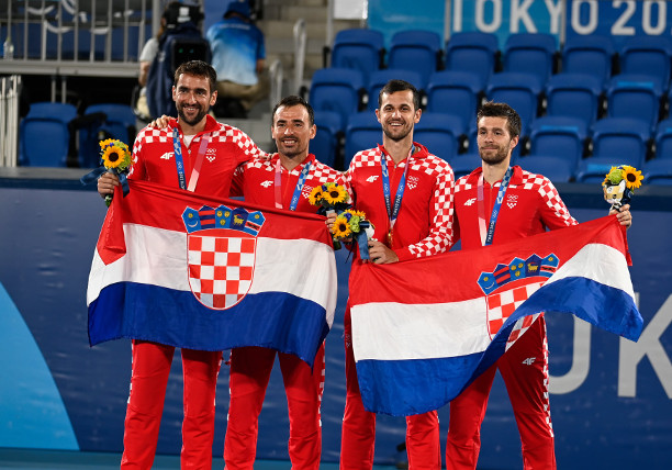 Mektic and Pavic Claim Gold in All Croatian Olympic Men's Doubles Final
