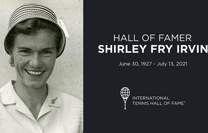 Hall of Famer Shirley Fry Irvin Dies at Age 94