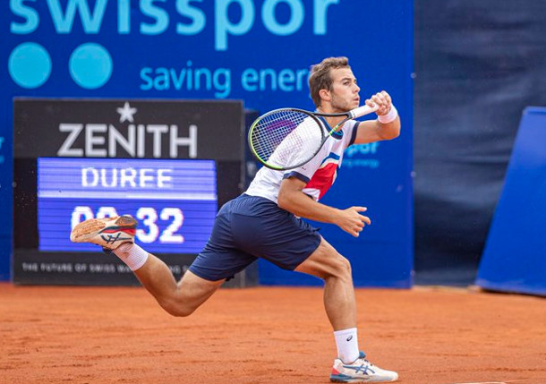 Gaston Fights Into First ATP Final in Gstaad