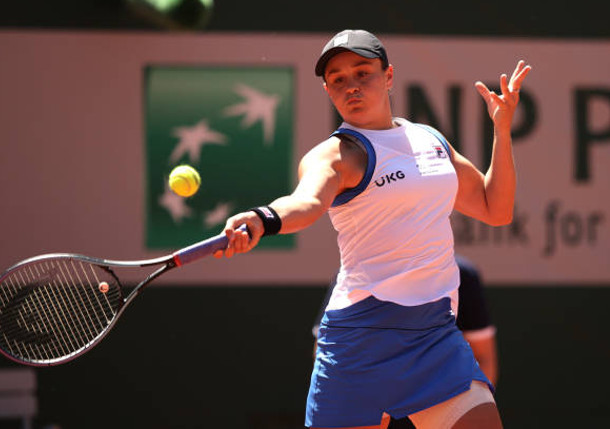 Return Test: Barty Battles Into RG Second Round