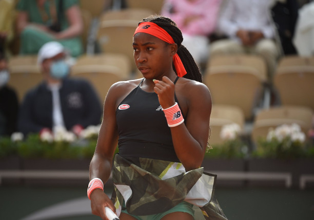 Gauff Charges Into First Major Quarterfinal in Paris