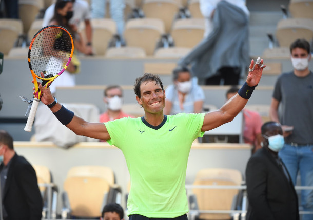 Nadal Subdues Schwartzman for Record 14th RG Semifinal