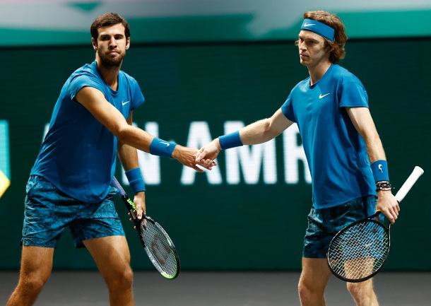 Russians Rising in Rotterdam, Rublev, Khachanov Into Round of 16