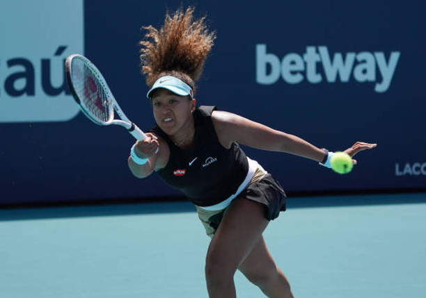 Streaking Osaka Sweeps 23rd Straight Win in Miami