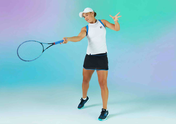 Barty Returns to Roland Garros Debuting New Fila Collection