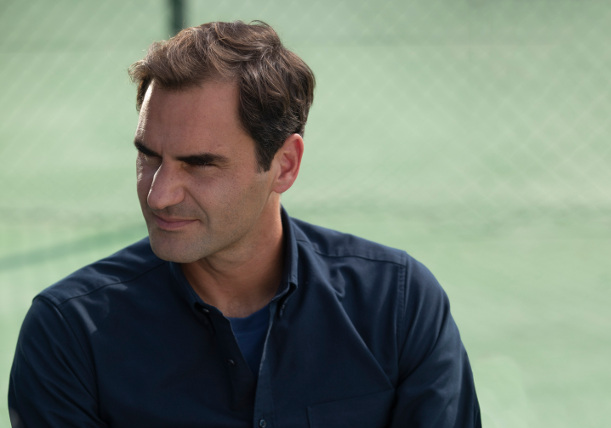 Watch: Federer Stars in Uniqlo Spot