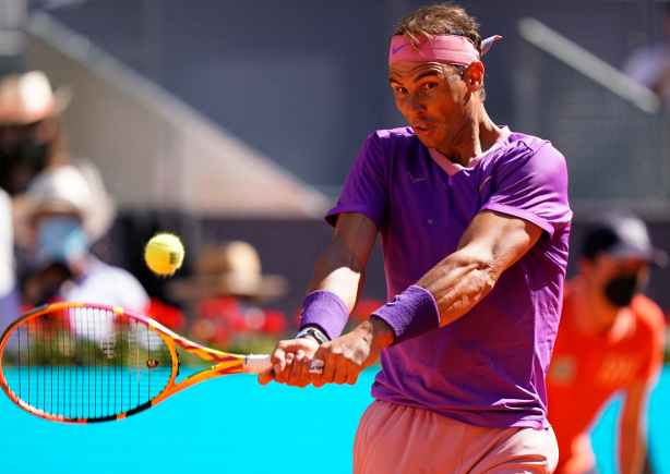 Nadal Powers Past Popyrin Into Madrid Quarterfinals