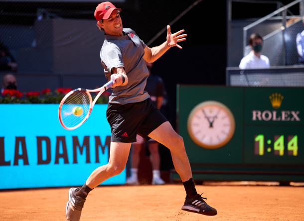 Thiem Topples Isner, Fights Into Fourth Straight Madrid Semifinal